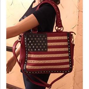 Montana west American pride tote bag crossbody